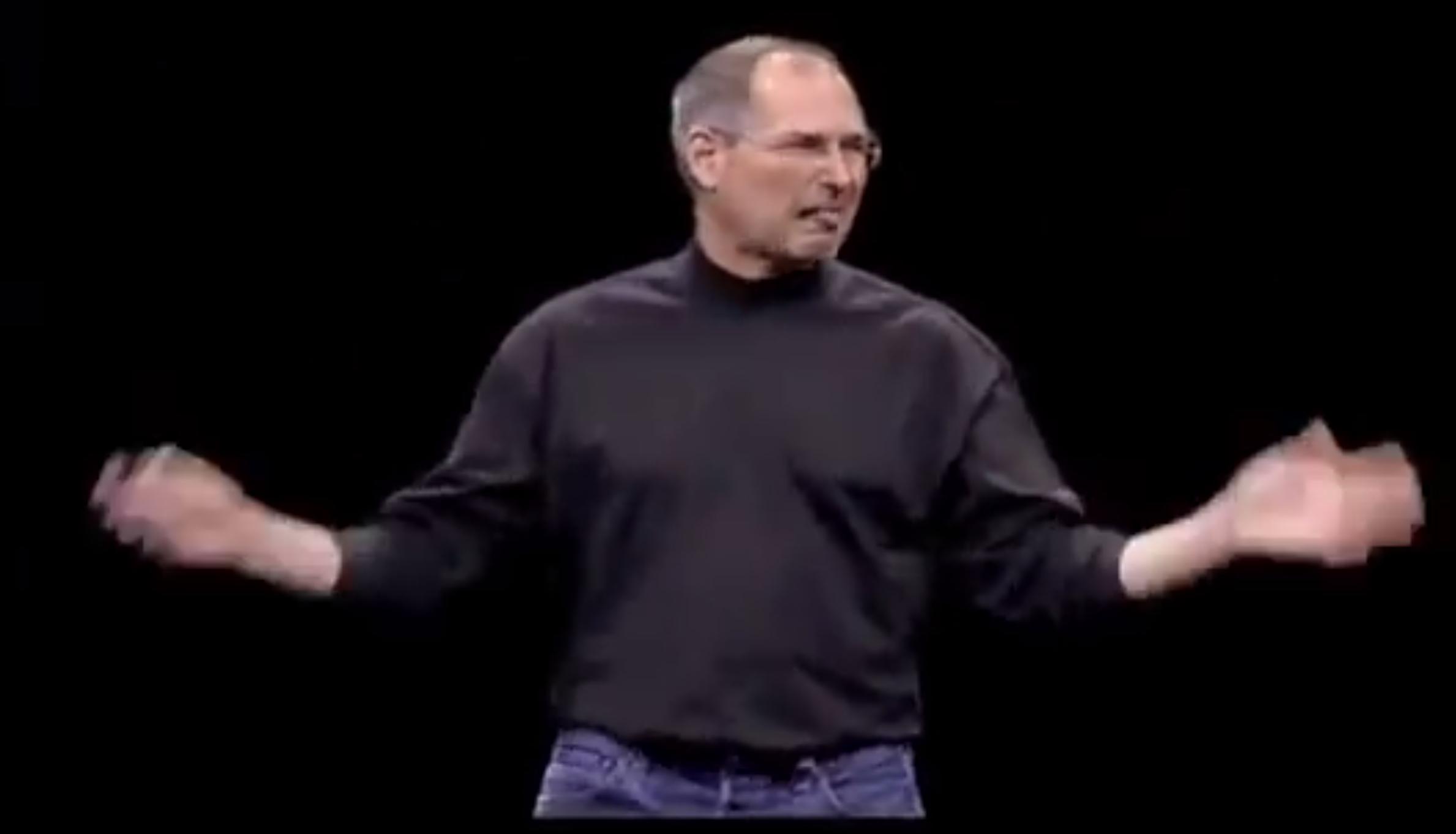 Steve Jobs hates stylus