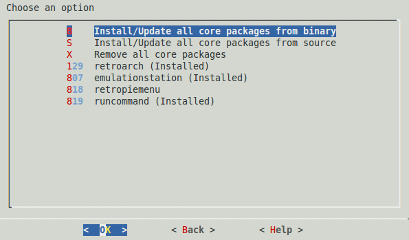 core packages