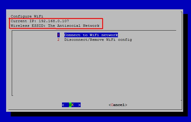 installare wifiinfo