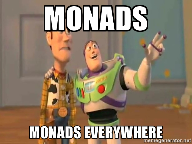 Monads Everywhere