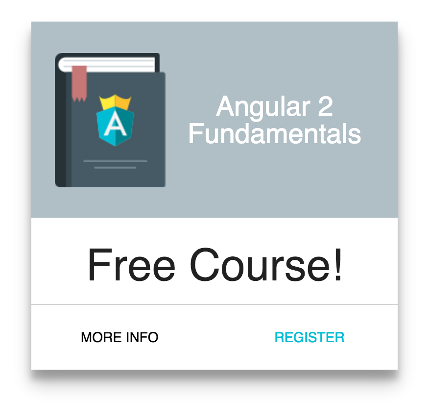 Angular 2 Fundamentals