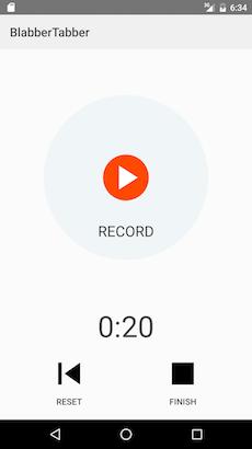recording screen