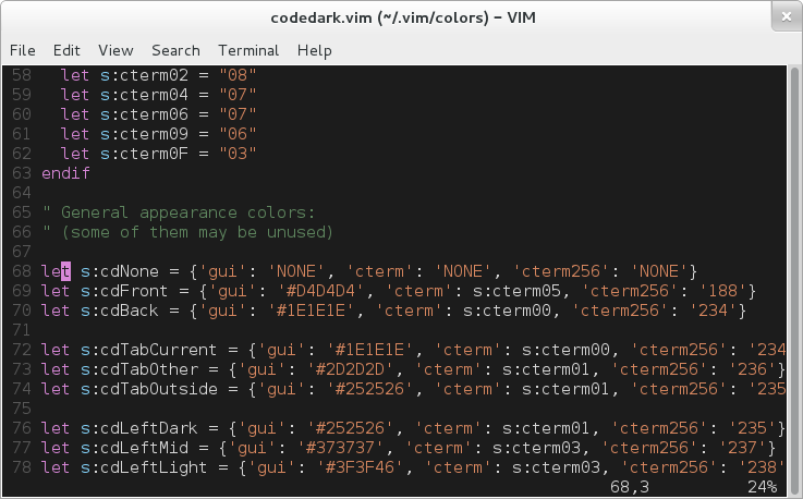 Terminal on Debian with 256 colors
