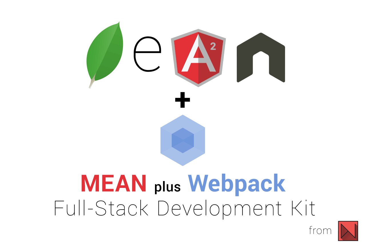 MEAN with NG2 and Webpack