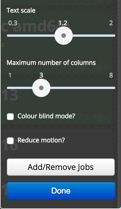 reduce motion in accessibility settings