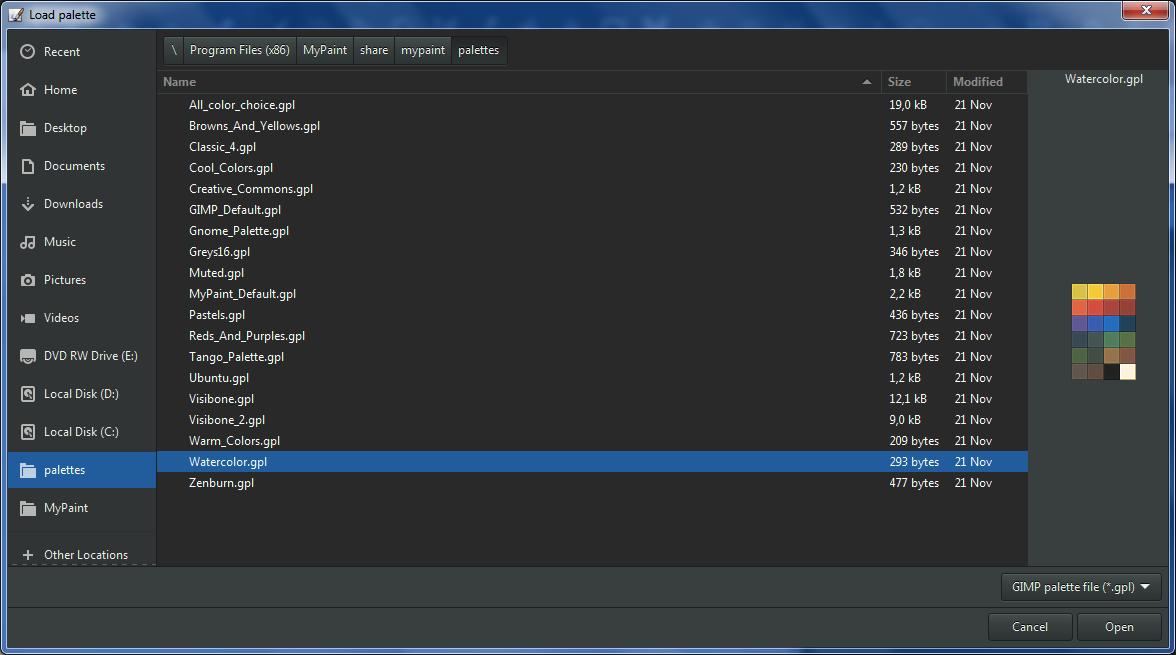 v1 2-palette-load-default-palette