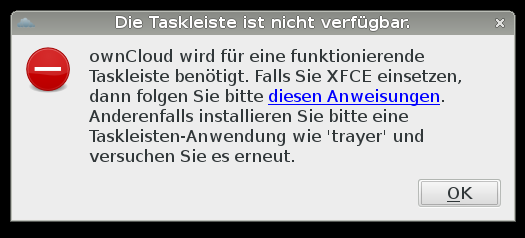 owncloud-without-xfce-panel