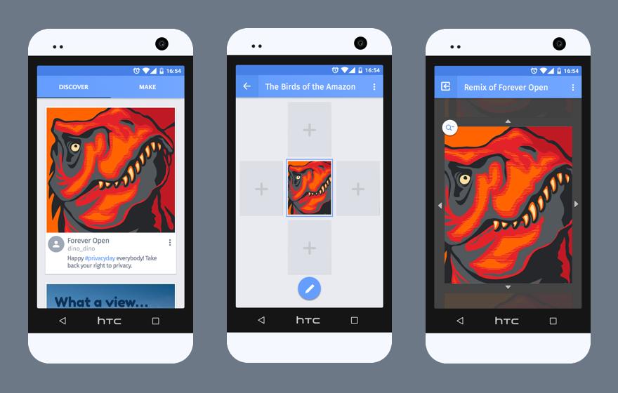 webmaker Screenshots