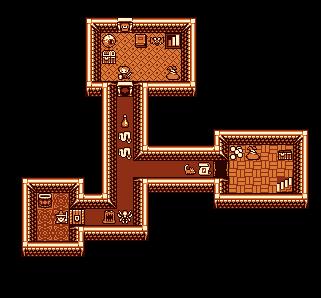 Screenshot using 16x16 Fantasy tileset by Jerom