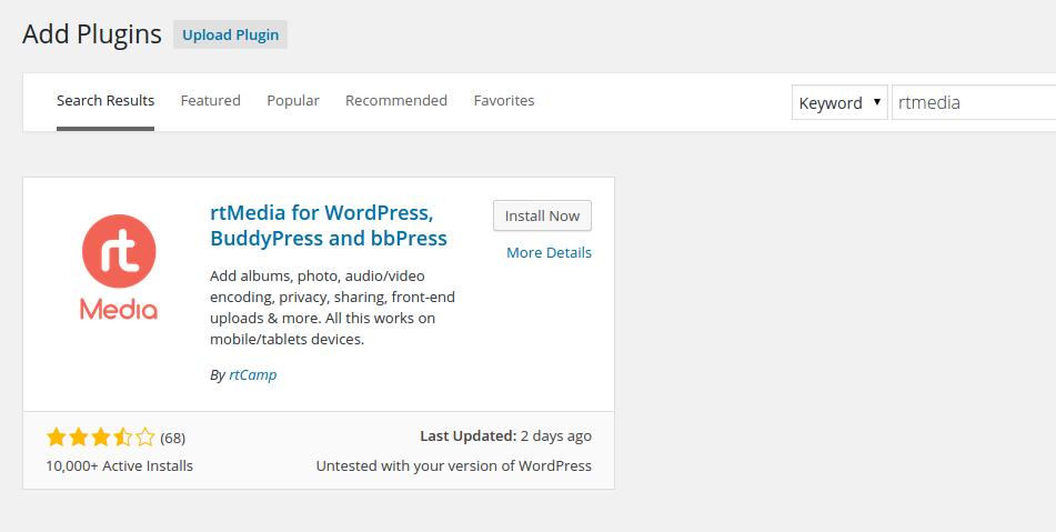install-rtmedia-wordpress-dashboard