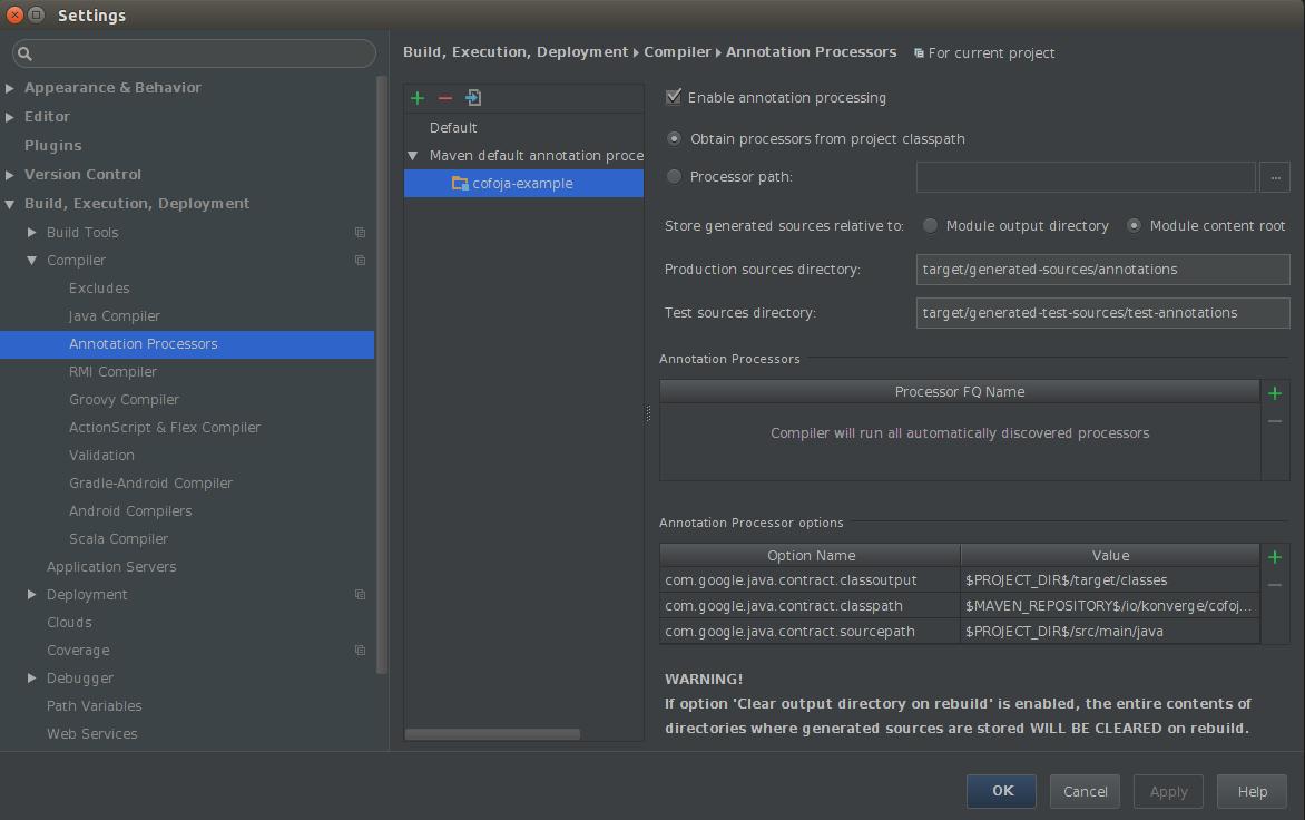 intellij-cofoja-annotation-processor