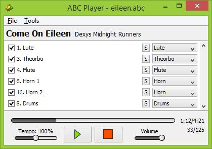 ABC Player Screenshot
