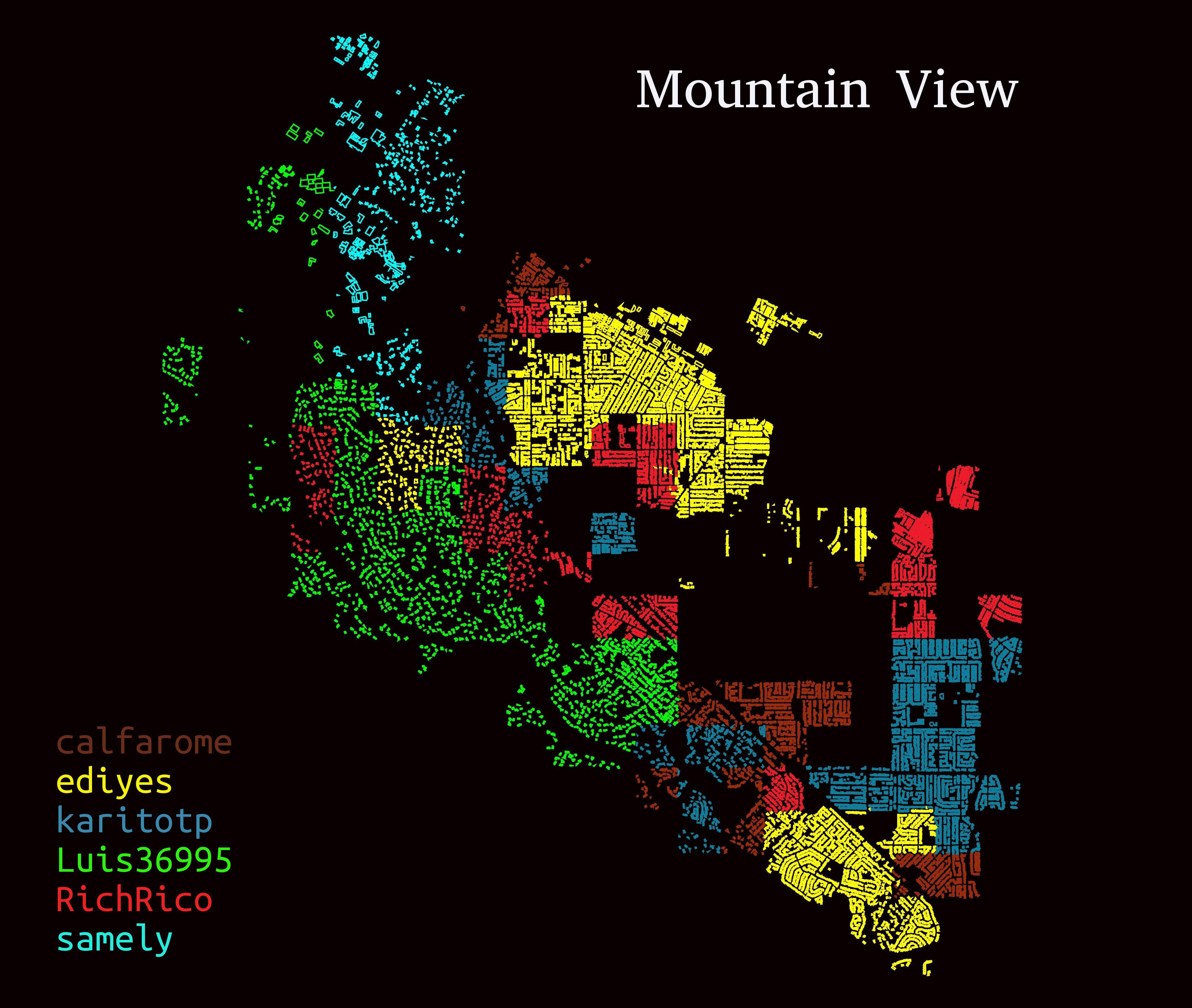 visualizacion mountain view