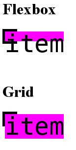 min-size: auto applying in 1 (flexbox) or both axis (grid)