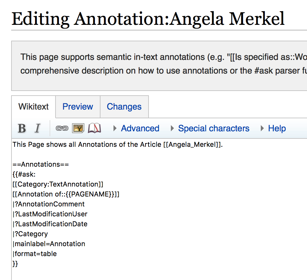 Query Annotations