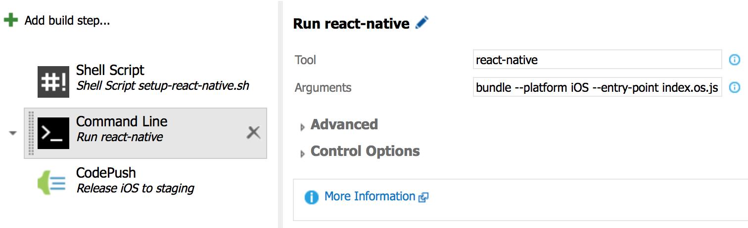 React CI