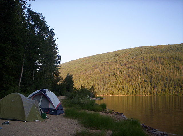 Camping in the Great Outdoors!