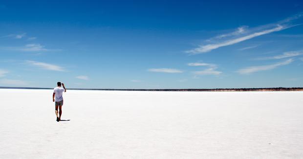 White Sand Beach in Australia