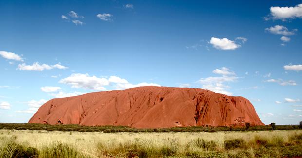 Uluru/Ayers Rock in the Australian Outback