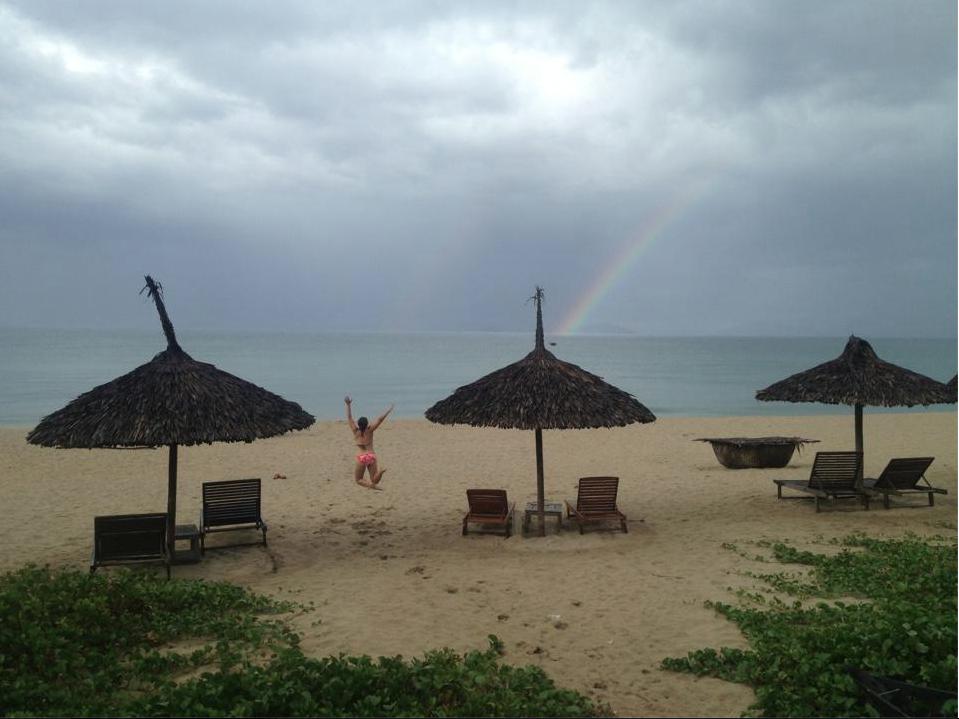 Costa Rica Beach Rainbow