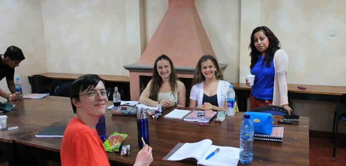 Spanish class in La Antigua, Guatemala