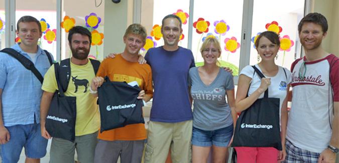 Teaching English orientation in Vietnam