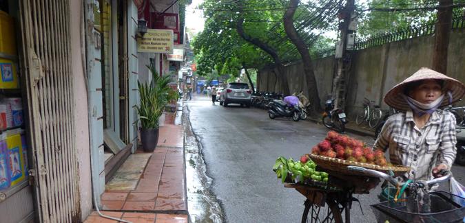 street scene in Vietnam