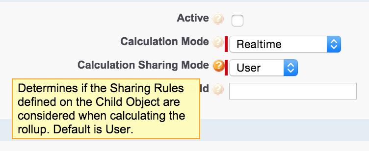 Calculation Sharing Mode