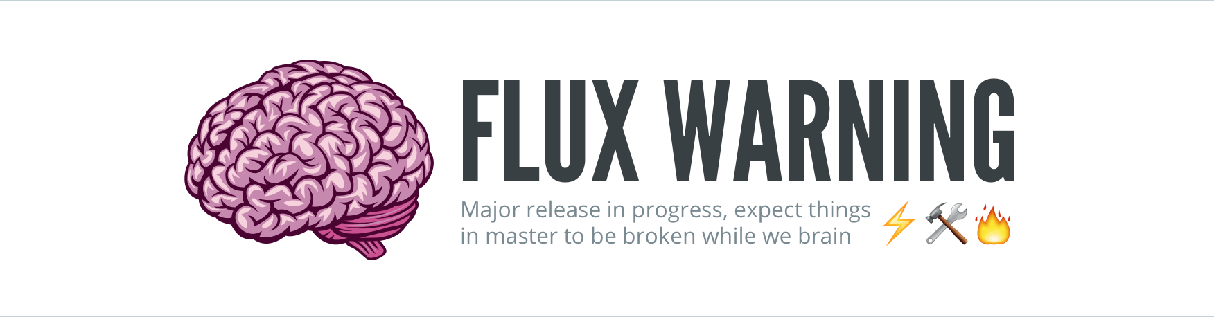 Warning: Major release in progress. Expect things to be broken in master.