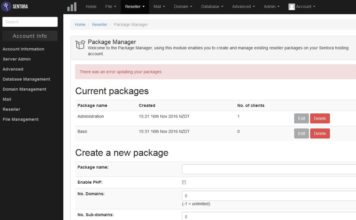 package_error