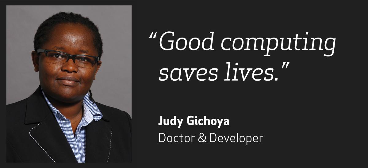 Meet Judy Gichoya, Doctor and Developer