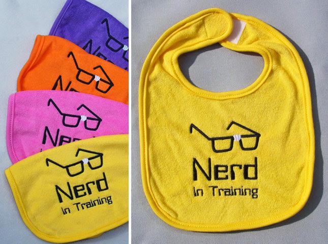 geek baby nerd