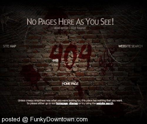 404 wall