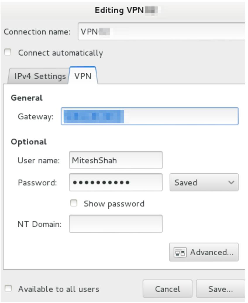 PPTP VPN Setup