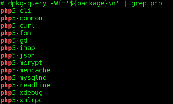 Quickly Findout Missing Package