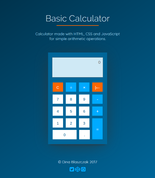 Calculator JS