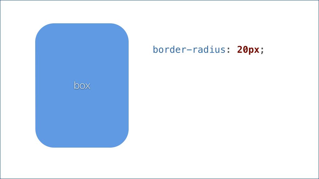 border-radius: 20px;