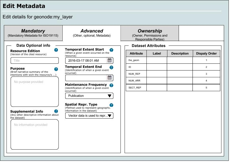 metadata - 3 advanced