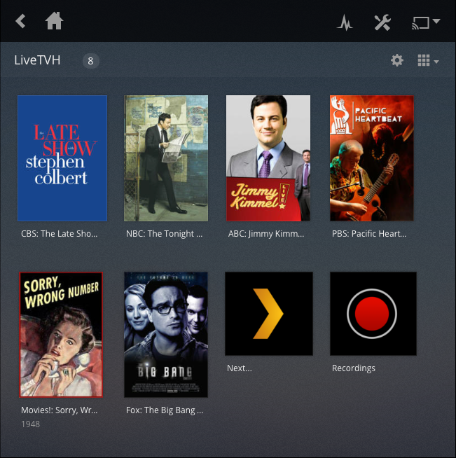 Plex Web Posters Screenshot