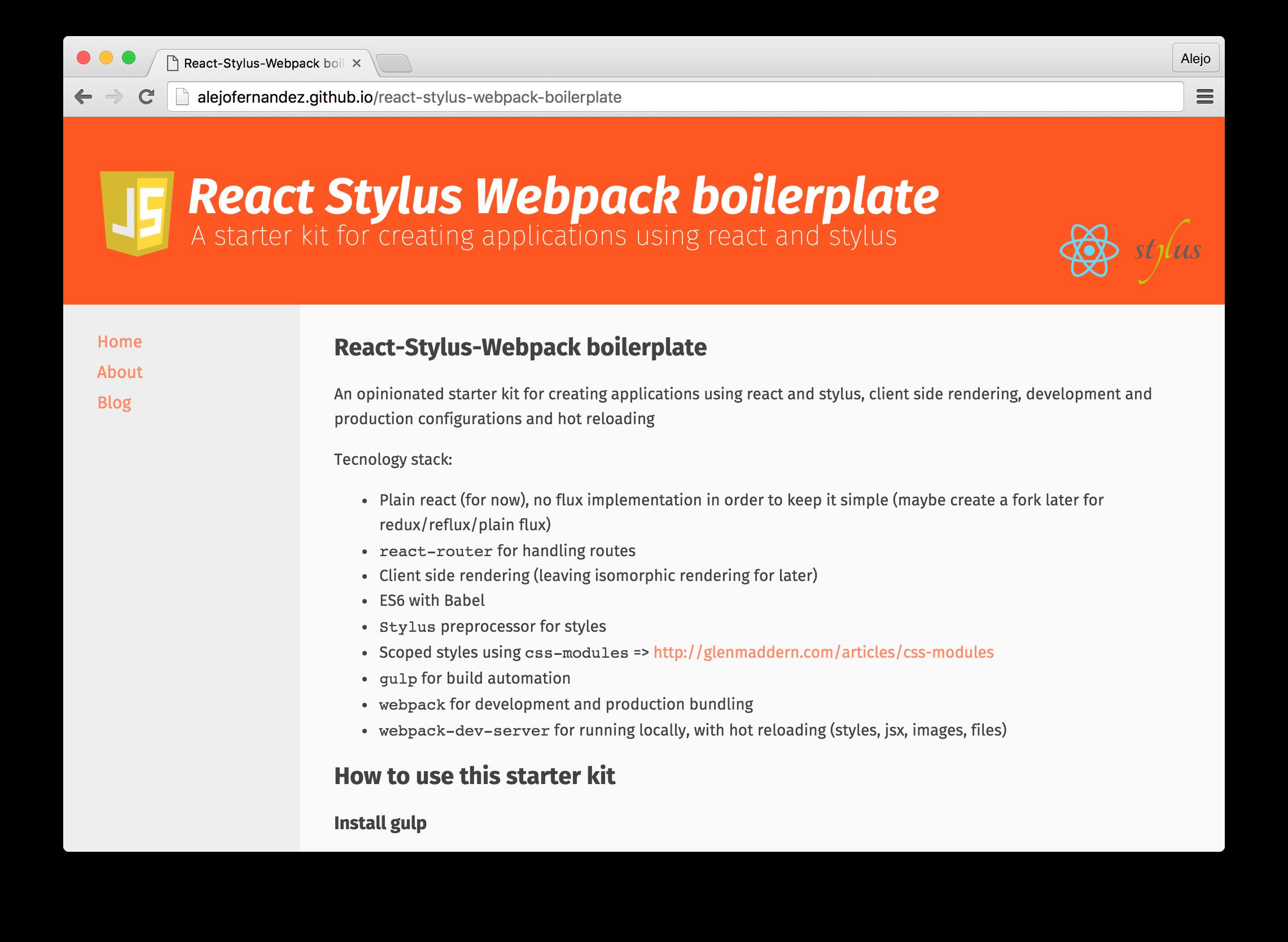react-stylus-webpack-boilerplate