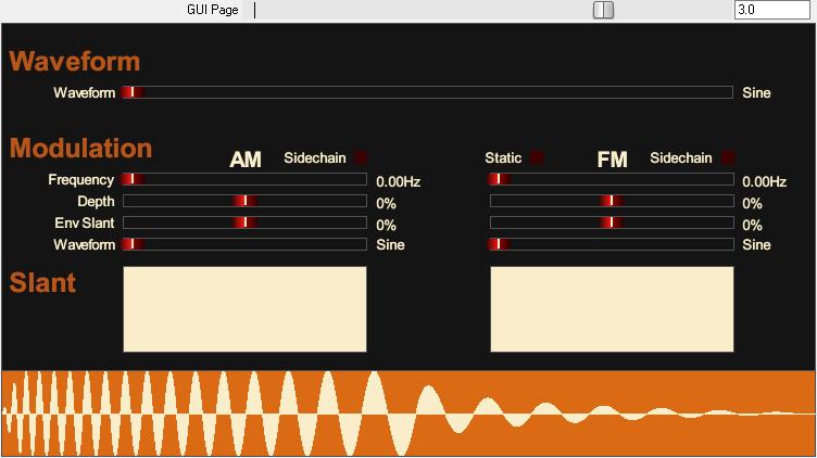 Tone Sweep JSFX 波形页面