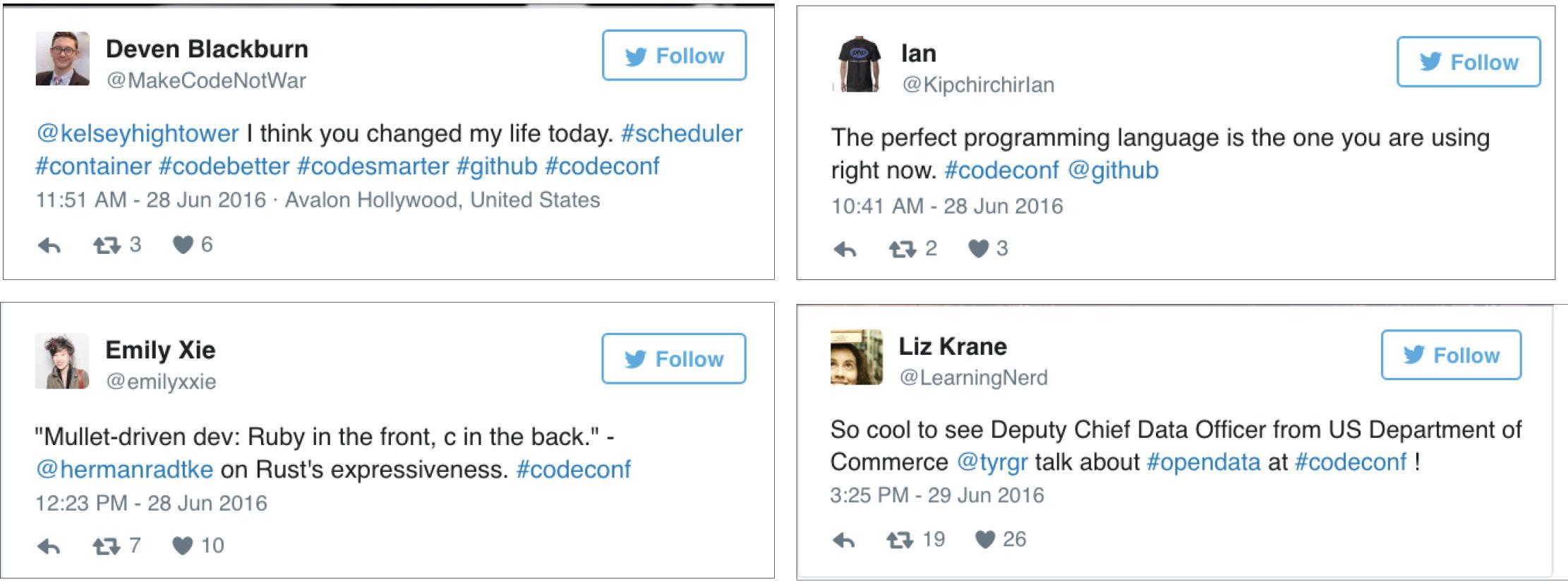 codeconf la recap tweet pic
