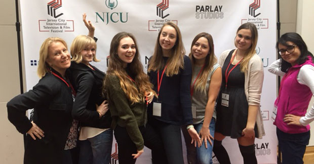 Au Pairs Participate in the Jersey City International Film Festival