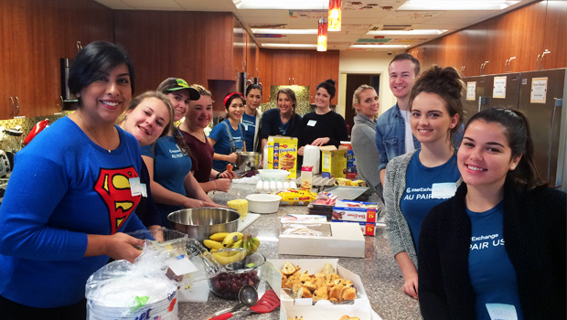 Raleigh Au Pairs Celebrate MLK Weekend With Service