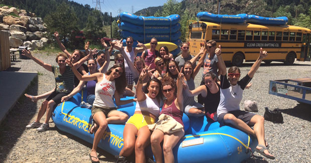 Rafting in Colorado: Au Pairs take on the Rapids
