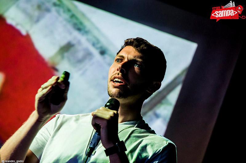 Raphael Fabeni durante evento Front in Sampa 2014