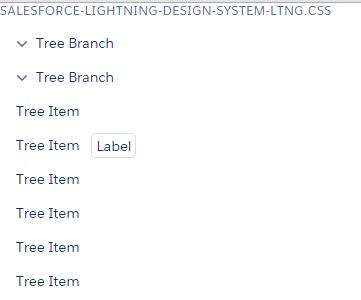 Lightning CSS tree