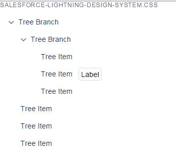 Regular CSS tree