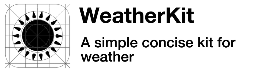 WeatherKit: A simple concise kit for weather