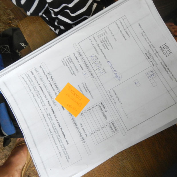 Health Research in Togo: Upgrading to Electronic Data Collection